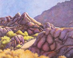 "Katya Coad, Portal (Alabama Hills, Lone Pine, CA), 24"" x 18"", Acrylic on canvas, $864.00, go to katyacoad.com and email for purchase info"