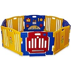 Baby Diego Cubzone Playard Panel Extension Set Other Baby Gear Baby Gear Blue And Yellow Attractive Appearance