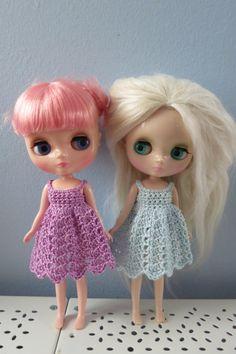 Middie Blythe/ Odeco Crochet Dress   6 Different door bearlydressed