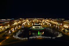 nothing better than Southlake Town Square at Christmas time