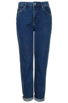 MOTO Blue Mom Jeans - Jeans  - Clothing