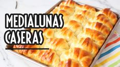 Medialunas de manteca caseras SÚPER FÁCIL - No falla! 🥐🥐 - YouTube Media Luna, Macaroni And Cheese, Ale, Ethnic Recipes, Desserts, Food, Youtube, Gastronomia, Homemade Butter