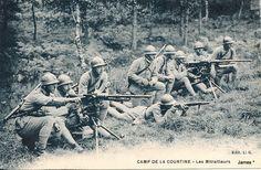 CAMP DE LA COURTINE - Les Mitrailleurs