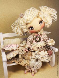 Коллекционные куклы ручной работы. Ярмарка Мастеров - ручная работа Амели, Ангел Заветных Желаний. Handmade.
