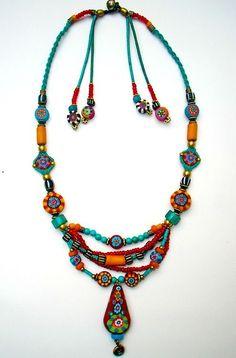 aowdusdee:    ~ handmade Fimo bead jewelry ~