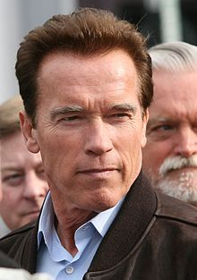 Arnold Alois Schwarzenegger (born July 30, 1947) is an Austrian and American former professional bodybuilder, actor, businessman, and politician. On the Republican ticket, he served as the 38th Governor of California from 2003 until 2011. Schwarzenegger began to weight train at the age of 15 years old. He was awarded the title of Mr. Universe at age 20 and went on to win the Mr. Olympia contest seven times. He also stared in many action movies, such as The Terminator and Conan The Barbarian.