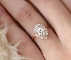 Unique engagement rings say wow 28