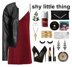 """""""Untitled #5"""" by kadasiahedward on Polyvore featuring Giuseppe Zanotti, Zizzi, The Giving Keys, Uncommon, House of Harlow 1960, Bobbi Brown Cosmetics, Elizabeth Arden and Topshop"""