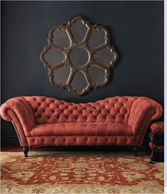 Red Leather Couches On Pinterest Couches