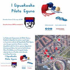 Hoy domingo, Gipuzkoa Pilota, Concejalía Impulso Económico Donostiako Sustapena Fomento de San Sebastián & Asociación de Empresarios de Hostelería de Gipuzkoa organizan el I Pilota Eguna ¡Disfrútala! Toda la info, pinchando sobre la imagen.