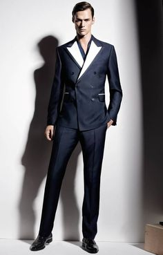 Double breasted suit from Joop men's Spring/Summer collection