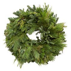Christmas wreath...i'll bet it smells great!