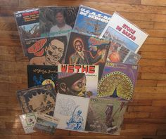 Simon's Slow Music from Africa Vol. 2 mixtape. A new mix of personal classics on vinyl.