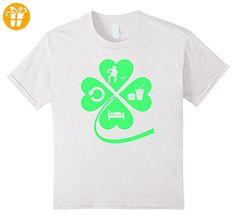 Hockey Eat Sleep Repeat Shirt - Irish Shirts For Hockey Kinder, Größe 104 Weiß (*Partner-Link)