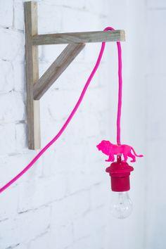 Lámpara divertida DIY