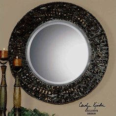 Uttermost 11587 B Alita Woven Metal Mirror *** Check out the image by visiting the link.