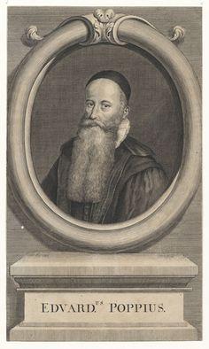 Portret van Edward Poppius (1576-1624), remonstrants predikant te Gouda - Geheugen van Nederland