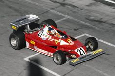 Gilles Villeneuve, Ferrari 312T2, 1977 Canadian GP (Gilles' first race with Ferrari)