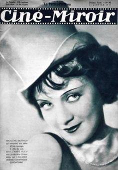 Cine-Miroir-Marlene Dietrich