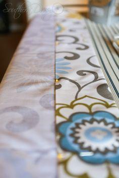 DIY Curtain Tutorial by southerndaisy.com