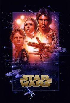 Star Wars: A New Hope (1977) Harrison Ford, Carrie Fisher, Mark Hamill and Alec Guinness