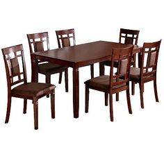 Venetian Worldwide 7-Piece Montclair Dining Table and Chairs