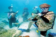 Underwater Music Festival — Florida Keys | 15 Bizarre Festivals You Can Only Find In The U.S.