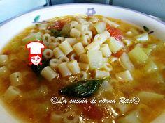 Pasta con la zucchina siciliana