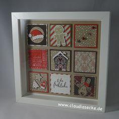 Stampin Up, Weihnachten, Christmas, Dekoration, Deko, decoration, Ribba, Claudiasecke