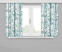 Bílé závěsy se vzorem bambus Curtains, Shower, Prints, Home Decor, Rain Shower Heads, Blinds, Decoration Home, Room Decor, Showers