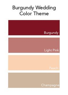 peach burgundy and salmon gold pallet - Google Search