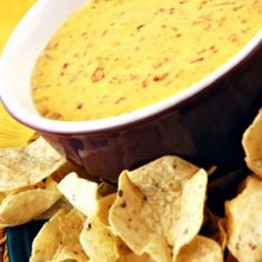 Copycat Qdoba Queso Dip Recipe Appetizers with jack cheese, American cheese, cheddar cheese, poblano peppers, tomatoes, heavy cream, salt