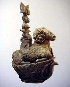 Sculpture by South African artist Deborah Bell