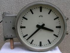 vintage german industrial wall clock from tn by antiques pinterest industrial wall clocks wall clocks and clocks