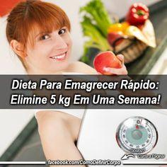 Dieta Para Emagrecer Rápido: Elimine 5 kg Em Uma Semana!  ➡ https://segredodefinicaomuscular.com/dieta-para-emagrecer-rapido-elimine-5-kg-em-uma-semana/  Se gostar do artigo compartilhe com seus amigos :) #dieta #diet #emagrecer #perderpeso #comodefinircorpo