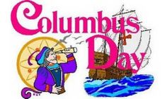 It's Columbus Day. Send Christopher Columbus Day Cards to celebrate the spirit of adventure of Columbus in America and honor Columbus memory. Columbus Day Holiday, Happy Columbus Day, Family Holiday, Christmas Holiday, Homemade Valentines, Valentine Gifts, Discovery Day, Mothers Day Cupcakes, Indigenous Peoples Day