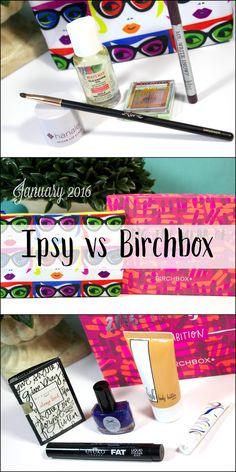 January 2016 Ipsy vs