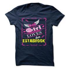 [Love Tshirt name font] ESTABROOK Teeshirt of year Hoodies, Funny Tee Shirts