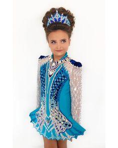 Celtic Dance, Girls Sports Clothes, Blue Dresses, Tutu Dresses, Dance Moms, Little Princess, Irish Dance Dresses, Dance Costumes, Dream Dress
