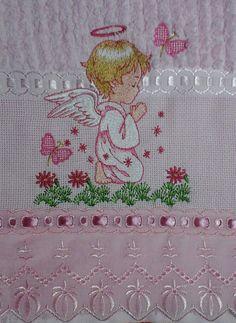 Toalha de banho com tema Anjo