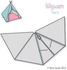 Wigwam Step 10 | Blogged at Torie Jayne.com Blog|Facebook|Tw… | toriejayne | Flickr