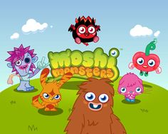Moshi Monsters - http://www.littlemonstersgames.com/moshi-monsters/ -  Description Do you absolutely love Moshi monster games? Do you love spending hours with your monsters, playing in a fun world where you can use your imagination and create a special monster that fits your own personality? Play multiple fun games with your very own Moshi monsters all day long,...