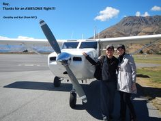 Happy pax after flight from milford Milford Sound, Fighter Jets, Aircraft, Happy, Aviation, Ser Feliz, Planes, Airplane, Airplanes