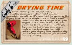 Cosplay Tip 12 - Drying Time by Bllacksheep.deviantart.com on @deviantART
