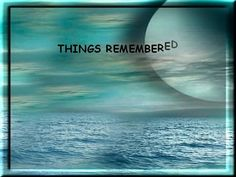 It's funny we don't realize, that the moments etched in time, are from the simple passing hours, of days that intertwine...  Did you enjoy this video presentation by Chee Chee Martin?