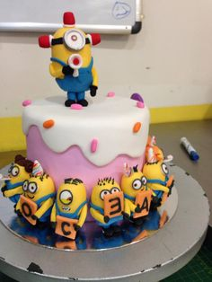 For the love of Minions! birthday cake, Sugarnomics Cake Studio Guam
