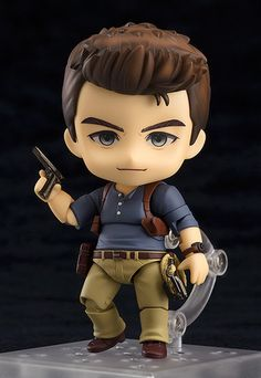 Anime & Figure News - Uncharted A Thief's End – Nathan Drake Adventure Edition Nendoroid action figure by Good Smile Company Nathan Drake, Nathan Uncharted, Uncharted Series, Anime Figures, Action Figures, A Thief's End, Tokyo Otaku Mode, Cute Cartoon Wallpapers, Gaming Wallpapers