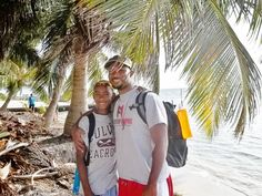 My Grandson, and his older Cousin in Belize