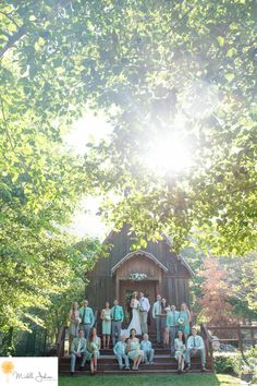 michelle johnson photography, green mountain ranch lytle creek, wedding party