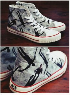 Absolution Converse. #Muse Omg! I NEED THESE!!!!!